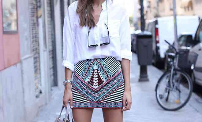 Fusta mini este la modă: idei de stil