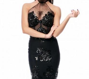 Modele de rochii negre cu paiete online
