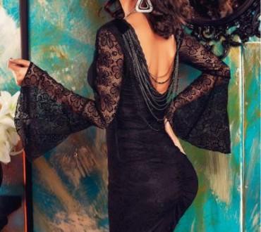 Modele online de rochii din dantela cu spatele gol