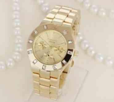 Ceasuri aurii la moda