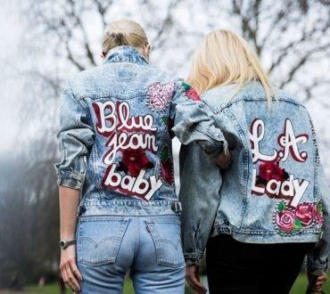 Jachete din denim la moda in toamna 2017