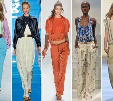 Pantaloni dama 2018 la moda