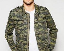 Moda militara: se intoarce camuflajul in garderoba masculina